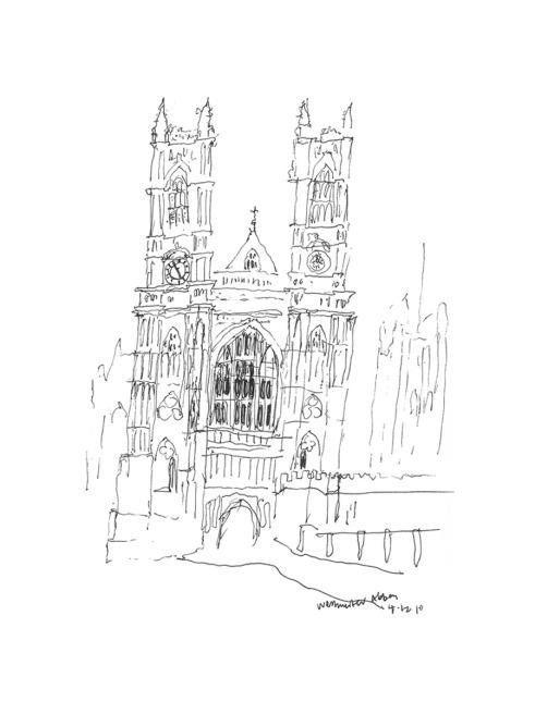 England – Sketch