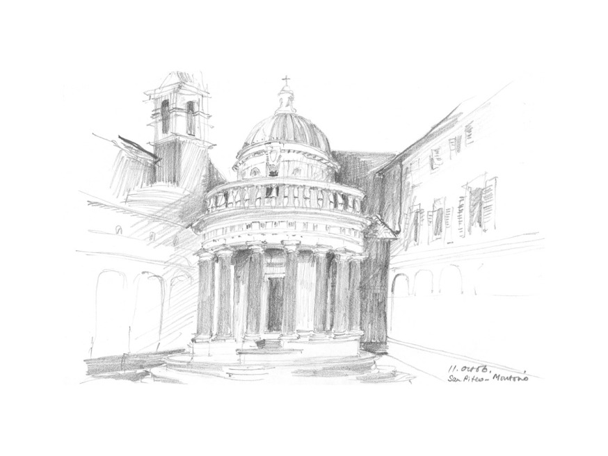 Italy – Collected Sketches