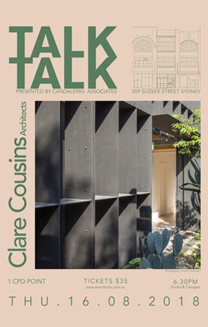 Talk Talk: Clare Cousins Architects