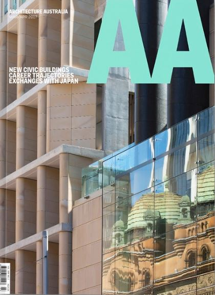 Cover Feature in Architecture Australia